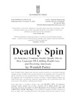 Deadly Spin - Press Release